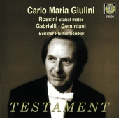 Album artwork for Giulini conducts Rossini, Garielli & Geminiani
