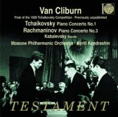 Album artwork for Van Cliburn plays Tchaikovsky, Rachmaninov, Kabale