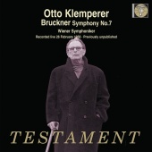 Album artwork for Bruckner: Symphony No. 7 Klemperer 1958 Live