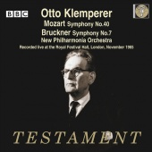Album artwork for KLEMPERER CONDUCTS BRUCKNER & MOZART