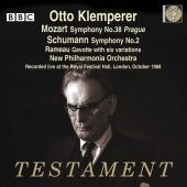 Album artwork for KLEMPERER CONDUCTS ...