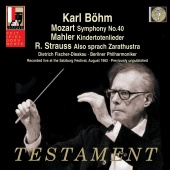 Album artwork for MOZART. Symphony No.40. Berliner Philharmoniker/Bo