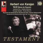 Album artwork for VERDI. Messa da Requiem. Berliner Philharmoniker/K