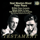 Album artwork for BRITTEN. Piano Concerto. Mewton-Wood/Pears