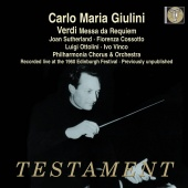 Album artwork for VERDI. Messa da Requiem. Philharmonia Orchestra/Gi