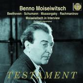 Album artwork for BEETHOVEN.  Concerto No.5. etc, Moiseiwitsch