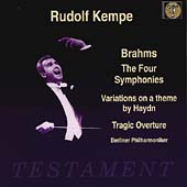 Album artwork for Rudolf Kempe Conduct