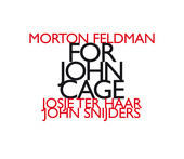 Album artwork for MORTON FELDMAN: FOR JOHN CAGE