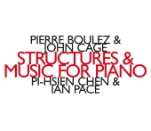 Album artwork for Pierre Boulez & John Cage: Structures & music for<