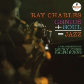 Album artwork for Genius + Soul = Jazz. Ray Charles (SACD)