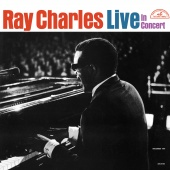 Album artwork for Ray Charles Live in Concert. Ray Charles (SACD)