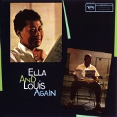 Album artwork for Ella and Louis Again. Ella Fitzgerald, Louis Armst