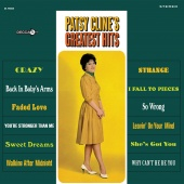 Album artwork for Patsy's Cline's Greatest Hits. Patsy Cline (SACD
