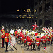 Album artwork for A Tribute - Band of Welsh Guards