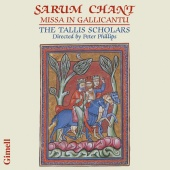 Album artwork for Sarum Chant - Missa in Gallicantu / Tallis Scholar