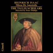 Album artwork for HEINRICH ISAAC: MISSA DE APOSTOLIS