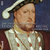 Album artwork for Tallis Scholars: Tudor Church Music Vol. 1
