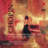 Album artwork for CHOPIN: PIANO CONCERTOS 1 & 2