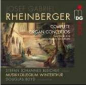 Album artwork for Rheinberger - Complete Organ Concertos