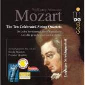 Album artwork for Mozart: The Ten Celebrated String Quartets