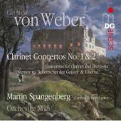 Album artwork for Weber: Clarinet Concertos Nos. 1 & 2