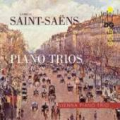 Album artwork for Saint Saens Piano Trios op 18 & 92