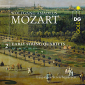 Album artwork for V2: EARLY STRING QUARTETS