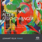 Album artwork for LESSON WITH PETER FEUCHTWANGER