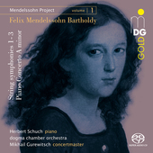 Album artwork for V1: MENDELSSOHN PROJECT