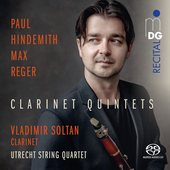 Album artwork for CLARINET QUINTETS