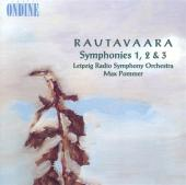 Album artwork for Rautavaara: SYMPHONIES 1 - 3