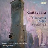 Album artwork for Rautavaara: Symphony No. 3, Helsinki Philharmonic