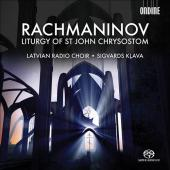 Album artwork for Rachmaninov: Liturgy of St. John Chrysostom