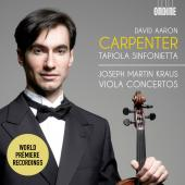 Album artwork for Kraus: Viola Concertos / Carpenter