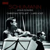 Album artwork for Schumann: Violin Sonatas / Tetzlaff