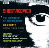 Album artwork for Shostakovich: The Execution of Stepan Razin, Zoya