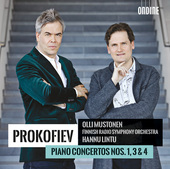 Album artwork for Prokofiev: Piano Concertos Nos. 1, 3 & 4