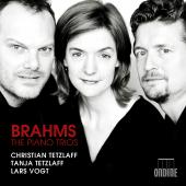 Album artwork for Brahms: Piano Trios / Tetzlaff, Vogt