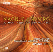 Album artwork for Magnus Lindberg: Al largo, Cello Concerto No. 2 &
