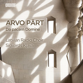 Album artwork for Arvo Pärt: Da pacem Domine