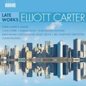 Album artwork for Carter: Late Works / Aimard, Faust, Queyras