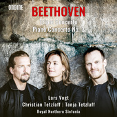 Album artwork for Beethoven: Triple Concerto & Piano Concerto No. 3