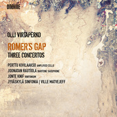 Album artwork for Olli Virtaperko: Romer's Gap – 3 Concertos