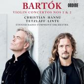 Album artwork for Bartók: Violin Concertos Nos. 1 & 2 / Tezlaff, Li