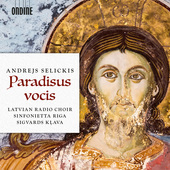 Album artwork for Selickis: Paradisus vocis