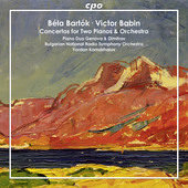 Album artwork for Bartók & Babin: Piano Concertos