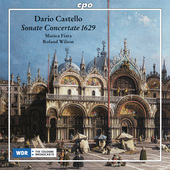 Album artwork for Castello: Sonate Concertate 1629