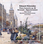 Album artwork for Künneke: Piano Concerto - Serenade - Zigeunerweis