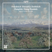 Album artwork for Fröhlich: Complete String Quartets