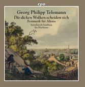 Album artwork for G.P. Telemann: Festmusik für Altona